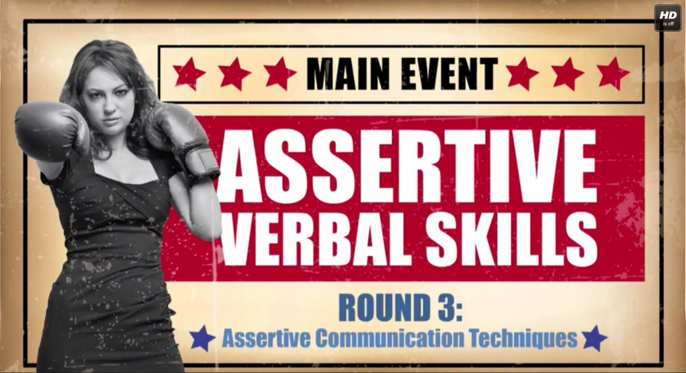 Communications - Assertive Verbal Skills Training Series