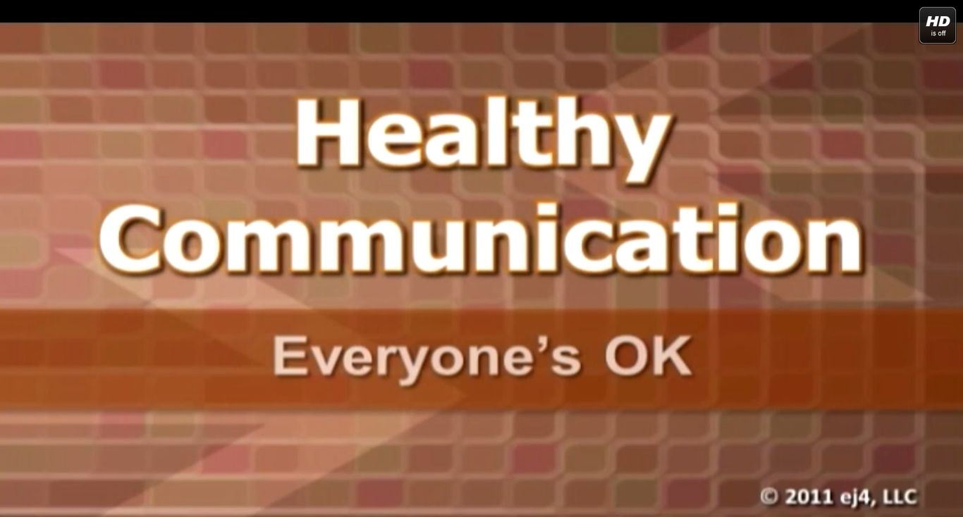 Communications - Healthy Communication Training Series