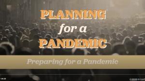 Coronavirus - Planning for a Pandemic Training Series