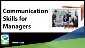 Communication Skills for Managers Training Series