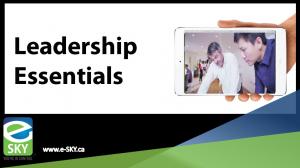 Leadership Essentials Training Series